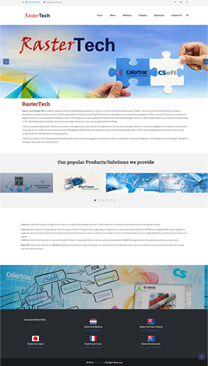 Latest Website Launch Rastertech