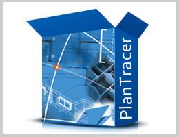 PlanTracer rapidly and simply convert raster floor and building plan drawings into parametric models
